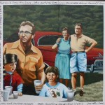 One of the 50's Murals